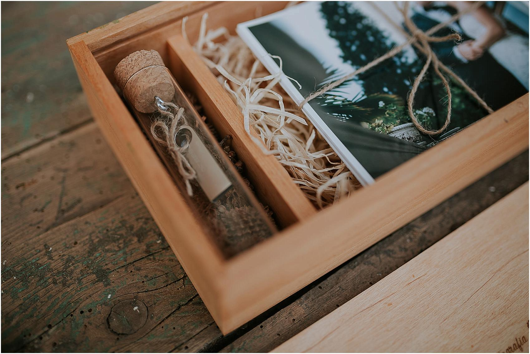 Wooden Memories Usb Box Wooden Box Photo And Usb