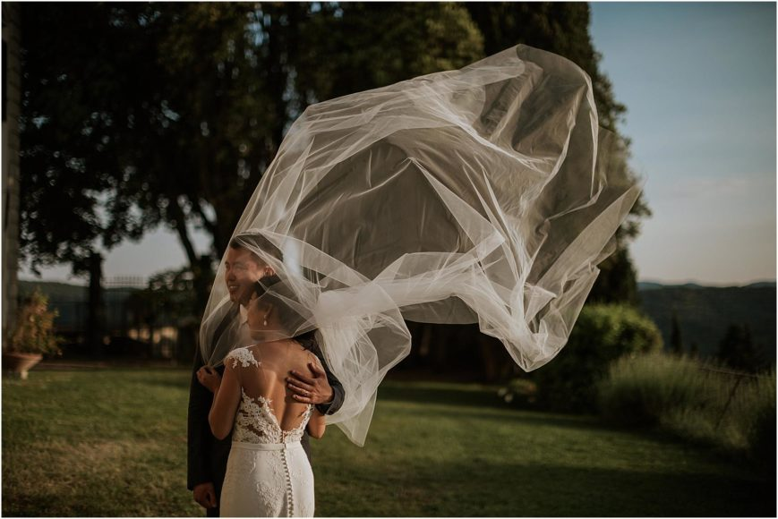 Wedding in Villa Vistarenni Siena