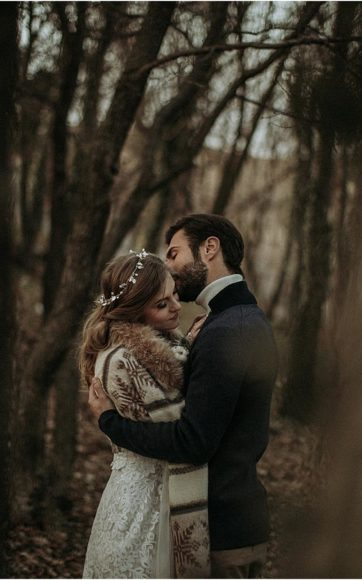 A winter hygge wedding
