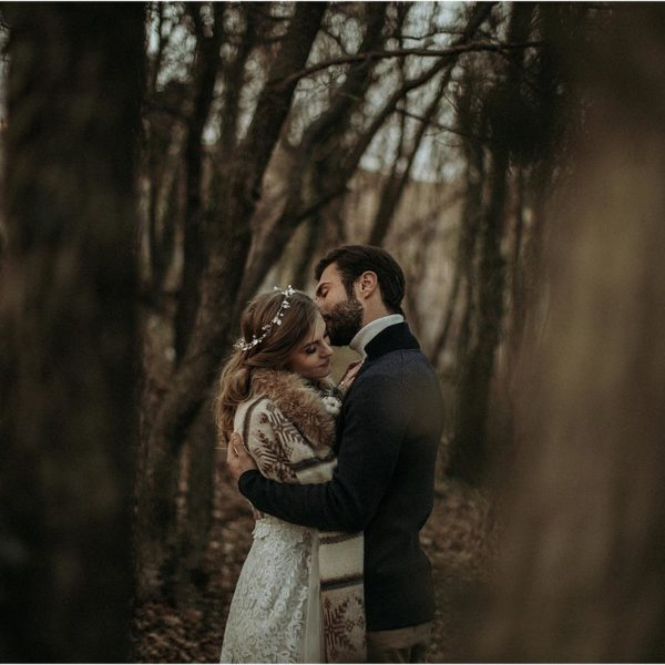A winter hygge wedding